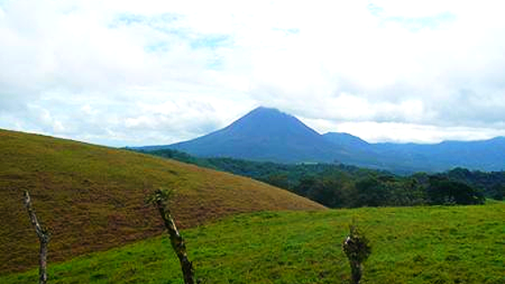 Massive Farm Nearby Arenal Volcano