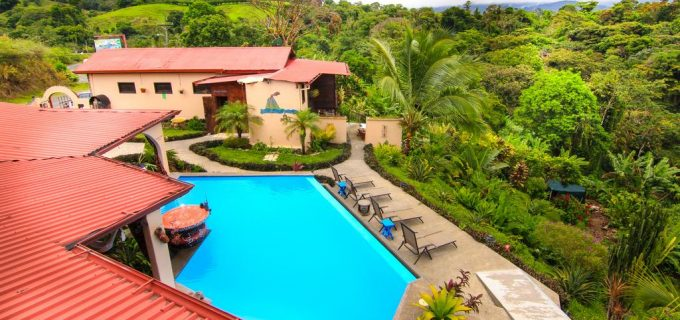 Established Hotel on the Lake Arenal