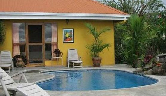 Picturesque Pool House set in Tropical Garden, Fabulous Lake View